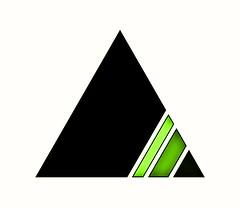 816 (MichaelTimmons) Tags: contemporaryart modernart fineart art digitalart artwork digitalpainting abstract triangles triangle green shapes geometric angles black white