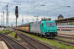 185 618-6 D-RHC Bremen Hbf 04.05.14 (Paul David Smith (Widnes Road)) Tags: 1856186 drhc bremen hbf 040514 bombardier traxx