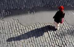 The Red Hat (Edinburgh Photography) Tags: outdoors hat red documentary photojournalism victoria street edinburgh nikon d7000