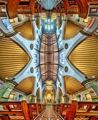 The Cathedral Church of St. Barnabas (Londonietis) Tags: cathedral church nottingham stbarnabas barnabas england panorama verticalpanorama vertorama kestasbalciunas londonietis hdr photomatix