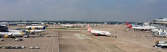 MAN T1 and T2 Overview (Aéroports) Tags: airport aéroport aviation man manchester jet2com jet2 holidays thomas cook boeing 737 757 747 airbus a330 a350 qatar saudia air canada rouge virgin atlantic