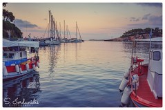 Traveling Mind (Stathis Iordanidis) Tags: greekislands greece alonissos summer sunrise port harbour boats morning silence serenity tranquility clearwater
