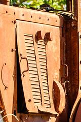 old traction-3 (grahamrobb888) Tags: d500 nikon nikkor nikond500 grahamrobbphotos 80400mm afs80400mm1456ed france holiday holidaysnaps hols rust traction oldmetal oldcars oldfashionhed abandoned