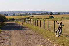 Turning for home (ArtGordon1) Tags: cycleride cycling essex countyofessex farmland davegordon davidgordon daveartgordon davidagordon daveagordon artgordon1 autumn 2019 september england uk atb mtb cycle bicycle marin rockyridge