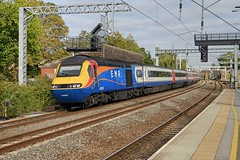 EMR HST with 43050 trailing northbound through Bedford Station (Mark Bowerbank) Tags: emr hst with 43050 trailing northbound through bedford station