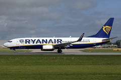 EI-GXK Ryanair Boeing 737-8AS(WL) at Manchester Airport on 12 May 2019 (Zone 49 Photography) Tags: aircraft airliner aeroplane may 2019 manchester england ringway airport man egcc fr ryr ryanair boeing 737 738 800 8as wl eigxk