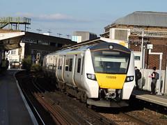A Thameslink Class 700 arrives at Peckham Rye, London (Steve Hobson) Tags: thameslink 700 peckham rye london tsgn