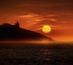 Baiona (Noel Feans) Tags: parador baiona torre principe valmiñor praia america nigran panxon galiza galicia solpor sunset sony a7riii a7r iii fe 100400 gm monterreal fortaleza