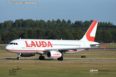 Laudamotion Ryanair Airbus A320 OE-IHH London Stansted Airport Sept 2019 (bananamanuk79) Tags: pictures travel travelling london logo airplane flying airport flyer photos outdoor painted aviation air airplanes transport flight jet worldwide airline airbus vehicle ryanair airways airlines departure flyers takeoff runway pilot stansted airliner jumbo airliners a320 jetliner livery planespotting laudamotion aicraft lauda spotter avgeek planewatch oeihh