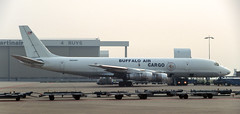 DC-8   N925BV   AMS   19950700 (Wally.H) Tags: mcdonnell douglas dc8 n925bv buffaloaircargo ams eham amsterdam schiphol airport