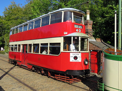 Metropolitan Electric Tramways No. 331 - National Tramway Museum 2019 (Dave_Johnson) Tags: metropolitanelectrictramways no331 metropolitan londontram 331 nationaltramwaymuseum nationalmuseum tramwaymuseum trammuseum museum tram trams tramway railway rail publictransport transport exhibition crich matlock derbyshire depot shed tramshed
