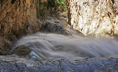 ~~ (Poria) Tags: nature river stone rock fall view landscape travel tourism iran persia slow longexposure