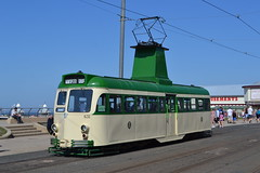 Blackpool Transport (Will Swain) Tags: blackpool during bank holiday gold running day 25tth august 2019 tram trams light rail railway rails transport travel europe transportation city lancashire coast