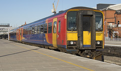 153321 (Lucas31 Transport Photography) Tags: trains railway class153 153321 nottingham