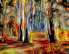 Lens & Brush 11 (V_Dagaev) Tags: art trees forest digital dynamicautopainter painterly painting painter paint paintingsfromphotos visualdelights