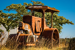 old traction (grahamrobb888) Tags: d500 nikon nikkor nikond500 grahamrobbphotos 80400mm afs80400mm1456ed france holiday holidaysnaps hols rust traction oldmetal oldcars oldfashionhed abandoned