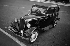 Rosedale Motoring - Ford Model Y (Hector Patrick) Tags: automotion capture1 cars classiccars flickrelite fujifilmxh1 fujinonxf18135rlmois northyorkshire rosedaleabbey motoring fordmodely flikr mono bnw blancoynegro noiretblanc absoluteblackandwhite acrosg