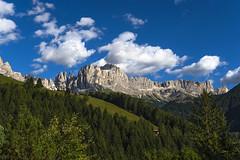 P9122325 (Dirk Buse) Tags: italia rosengarten dolomiten alto adige südtirol berge natur outdoor wolken himmel wald mft m43 mu43 italien alpen alps