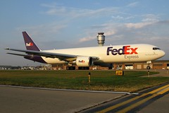 N156FE FedEx Express 767-3S2F(ER) at KCLE (GeorgeM757) Tags: n156fe fedexexpress federalexpress 7673s2fer 767 boeing kcle clevelandhopkins georgem757 cargo freighter aircraft aviation airplane airport canon650is