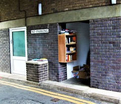 The Brentford Dock Library -  London. (Jim Linwood) Tags: brentford london england