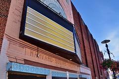 Blank Marquee (AntyDiluvian) Tags: boston massachusetts cambridge harvardsquare churchstreet marquee blank theater movietheater cinema harvardsquaretheater closed