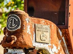 old traction-4 (grahamrobb888) Tags: d500 nikon nikkor nikond500 grahamrobbphotos 80400mm afs80400mm1456ed france holiday holidaysnaps hols rust traction oldmetal oldcars oldfashionhed abandoned