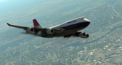 747-400 - 2019-09-22 4.45.45 AM (Rell Brown) Tags: boeing 747400 klm 737ng british airways negus landor xplane
