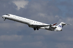 EC-JZV SAS Scandinavian Airlines Bombardier CRJ-900ER at Manchester Airport on 12 May 2019 (Zone 49 Photography) Tags: aircraft airliner aeroplane may 2019 manchester england ringway airport man egcc sk sas scandinavian airlines canadair bombardier crj 900 crj900er ecjzv