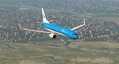 b738 - 2019-09-22 5.15.12 AM (Rell Brown) Tags: boeing 747400 klm 737ng british airways negus landor xplane