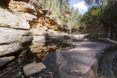 Small Pool, Alligator Gorge (oz_lightning) Tags: australia canon6d canonef1635mmf4lis mountremarkablenp sa southernflindersranges geology landscape nature reflections water mountremarkablenationalpark southaustralia