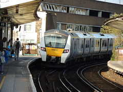 A Thameslink Class 700 departs from Peckham Rye, London (Steve Hobson) Tags: thameslink 700 peckham rye london tsgn