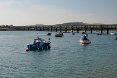 Boats on Adur River at Shoreham-F9210484 (tony.rummery) Tags: adur boats bridge em5mkii mft microfourthirds omd olympus riverside sea shoreham sussex shorehambysea england unitedkingdom