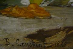 B. Constant (mistigree) Tags: benjaminconstant peintre tableau peinture toulouse expo muséedesaugustins chaussure
