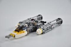 Gold Squadron Y Wing 11 (fnxrak) Tags: starwars star wars miniscale ywing moc rogueone lego fnxrak goldsquadron rebelaliance rebelfleet
