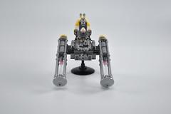 Gold Squadron Y Wing 10 (fnxrak) Tags: starwars star wars miniscale ywing moc rogueone lego fnxrak goldsquadron rebelaliance rebelfleet