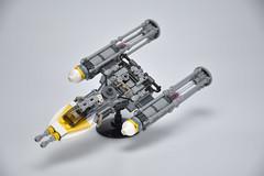 Gold Squadron Y Wing 05 (fnxrak) Tags: starwars star wars miniscale ywing moc rogueone lego fnxrak goldsquadron rebelaliance rebelfleet