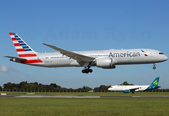 N820AL - American Airlines B787-9 Dreamliner (✈ Adam_Ryan ✈) Tags: dub eidw dublinairport 2019 19192019 canon 6d 100400liiisusm 100400 lseries aviation photography aircraft airbusboeing flight photo ireland september summer sun landing 2aircraft 2in1 n820al americanairlines americanairlinesnewlivery runway10 787 b787 b787dreamliner b787dublinairport b7879 b787900 aerlingus newlivery a320