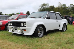 Fiat 131 Abarth ZV60641 (Andrew 2.8i) Tags: pembrokeshire haverfordwest scolton manor show automobile auto voiture cars car classics classic italian sports sport rally saloon sedan abarth 131 fiat zv60641