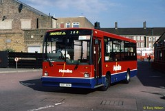 H157NON Metroline Travel DT157 (theroumynante) Tags: h157non metroline travel dt157 dennis dart carlyle edgware station bus buses singledeck midibus stepentrance road transport for london tfl route288 288