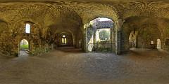 Netley Abbey, Infirmary (Terrycym) Tags: netley hampshire netleyabbey hdr panorama 360 equirectangular infirmary ptgui
