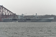 HMS Prince of Wales -- South Queensferry -- 22-09-19 (MarkP51) Tags: ship boat vessel sea water sunshine sunny nikon d500 nikonafp70300fx hmsprinceofwales southqueensferry scotland firthofforth royalnavy aircraftcarrier r09