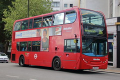TE1092 LK60 AGY (1) (ANDY'S UK TRANSPORT PAGE) Tags: buses hammersmith metroline london