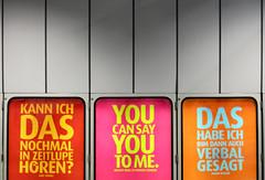 Zitate (Don Claudio, Vienna) Tags: zitate gewista wien vienna plakat werbung kohl schulz reagan basler city light helle momente hauptbahnhof südtiroler platz