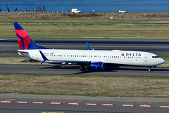 N917DU B737-932ER cn 63530 Delta Airlines 190903 Portland International 1003 (Kodak 260) Tags: n917du b737 deltaairlines aviation nregister airliners portlandiap pdx commercial