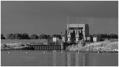 Kering Dirkslandsche Haven (LeonardoDaQuirm) Tags: nederland dirksland haringvliet lock sluis sperrwerk rhein rijn rhine