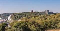 Dover Castle (Tony.Brasier) Tags: trees town tonybrasier nikond7200 sky sea grass lovely location s