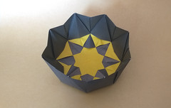 Crown Box by Me (georigami) Tags: origami papiroflexia paper papel