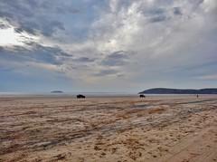 Somerset (Cat Thackstone) Tags: sea sun beach seaside sand jeeps somerset brean breandown steepholm flatholm location sanditon