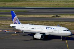N410UA A320-232 cn 463 United Airlines 190903 Portland International 1004 (Nikon Photographer NL) Tags: n410ua a320 unitedairlines nregister portlandiap pdx aviation airliners commercial