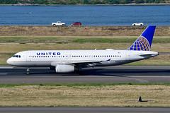 N410UA A320-232 cn 463 United Airlines 190903 Portland International 1002 (Nikon Photographer NL) Tags: n410ua a320 unitedairlines nregister portlandiap pdx aviation airliners commercial